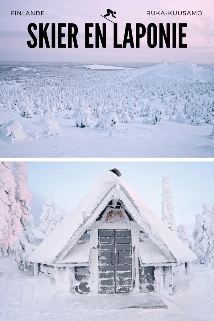 Kuusamo - ski en Laponie finlandaise