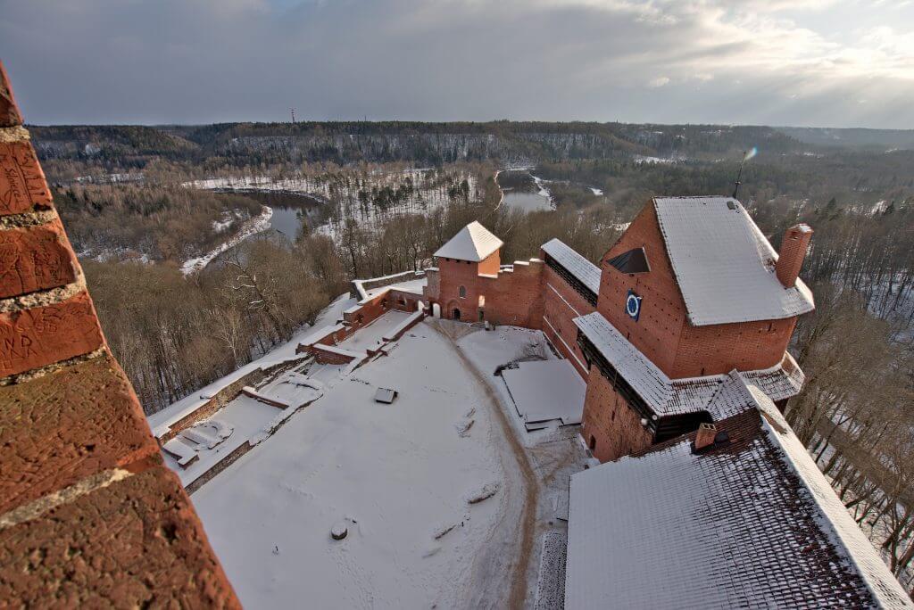 vue du château de Turaida