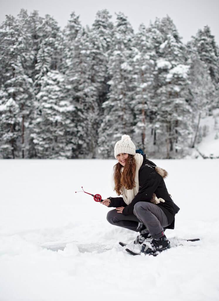 pêche sur glace finlande