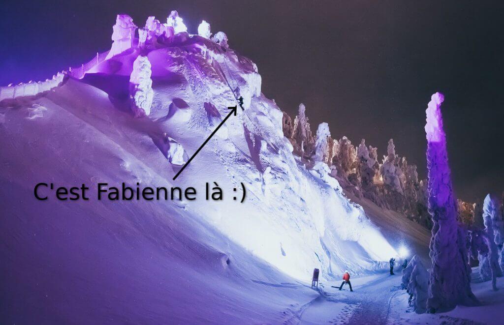 cascade de glace ruka