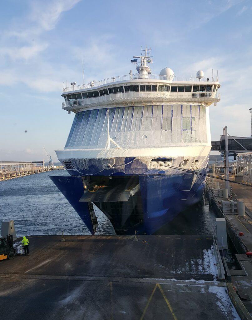 ferry entre tallinn et helsinki