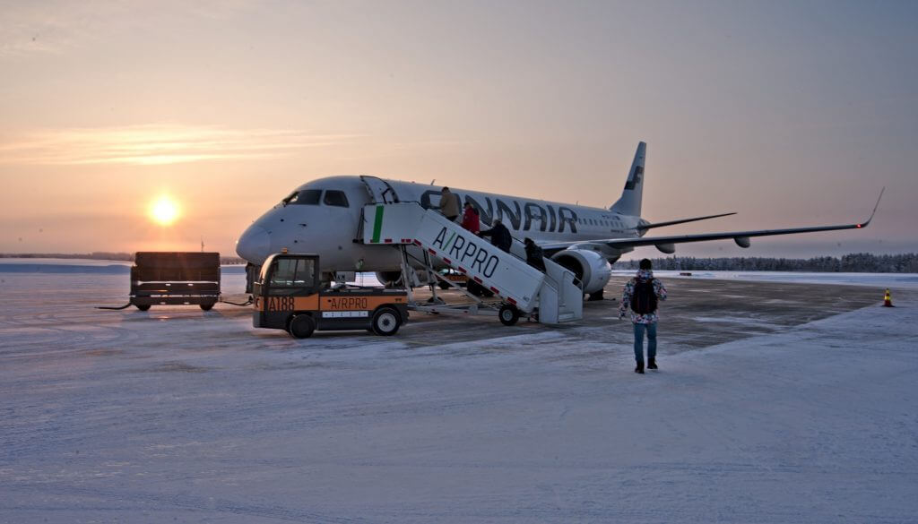 airport in lapland