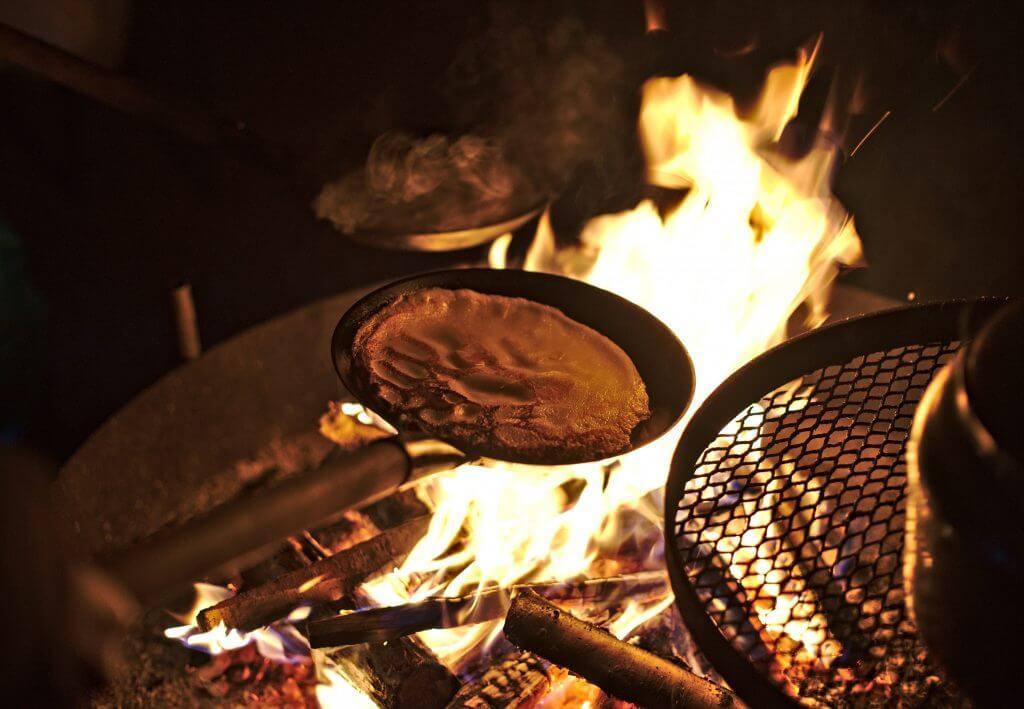 cuisine au feu de bois finlande
