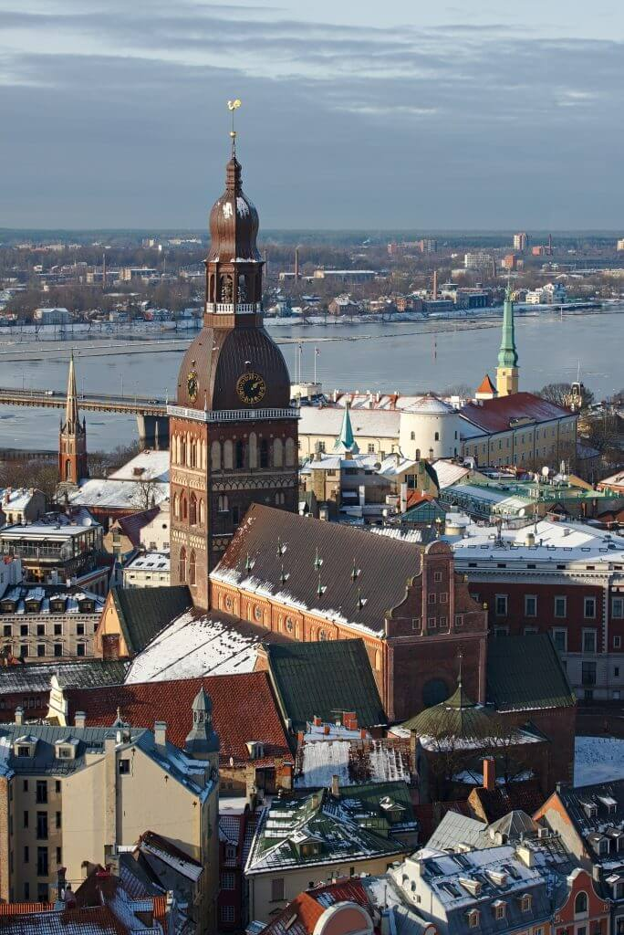 Riga capital of Latvia
