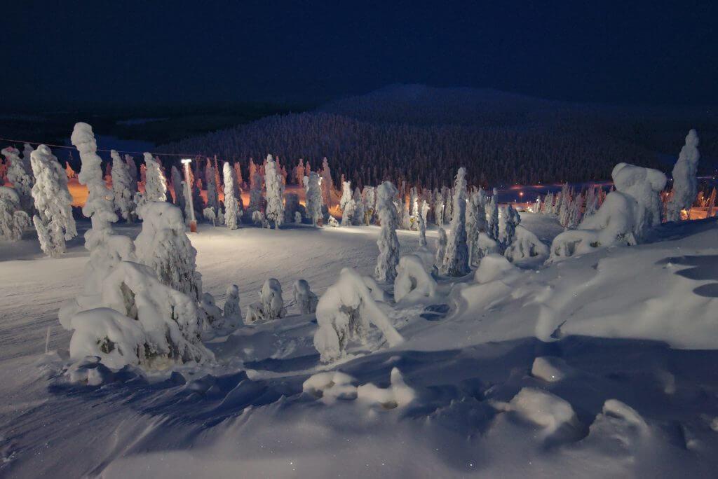 ski nuit ruka