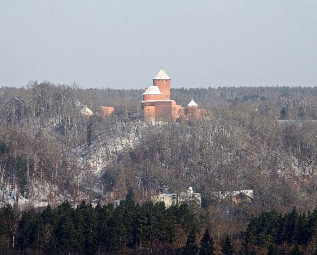 Turaida vu depuis Sigulda