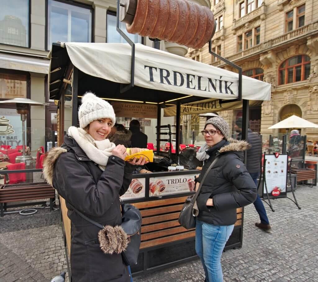 spécialité de prague, tredelnik