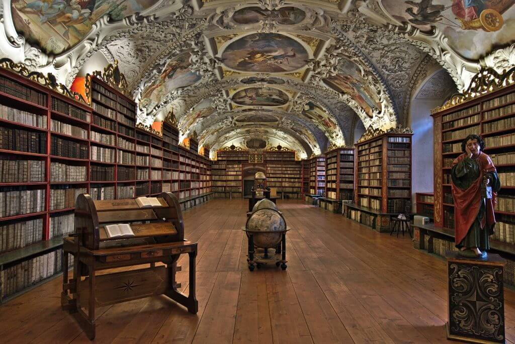 bibliotheque strahov prague