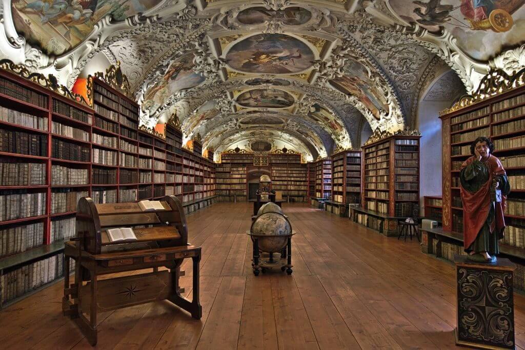 bibliotheque strahov prague