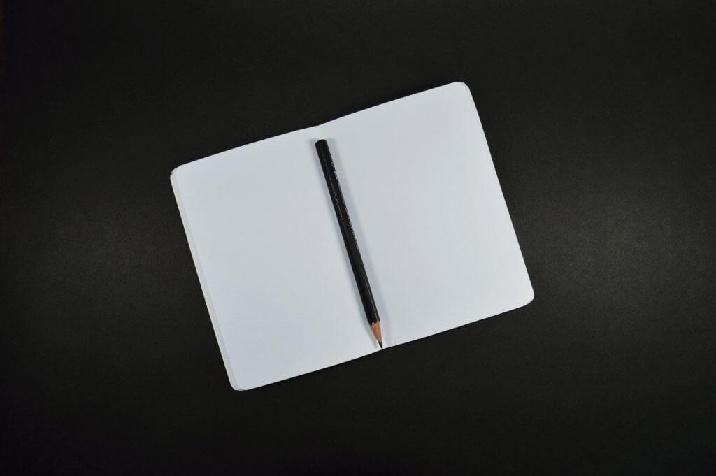 écriture de livre - début