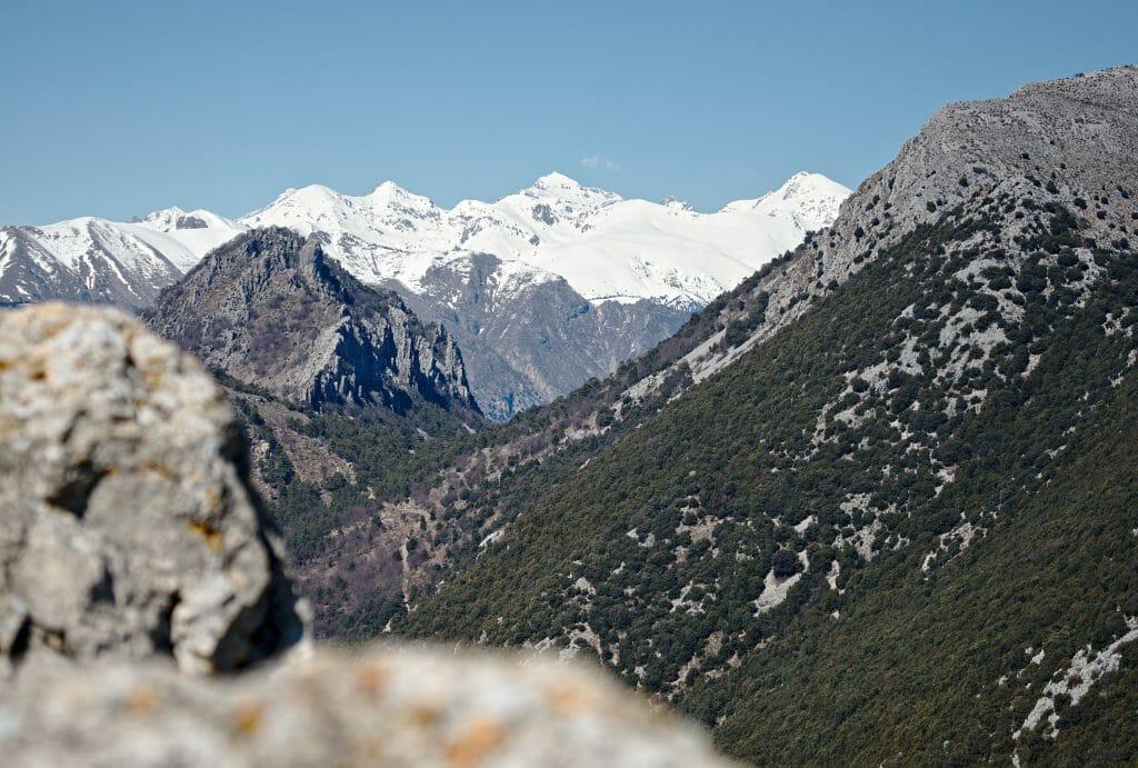 vue depuis le roc de l'ormea