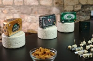 3 roqueforts cheeses