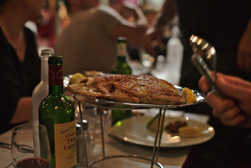 restaurant poissons bordeaux