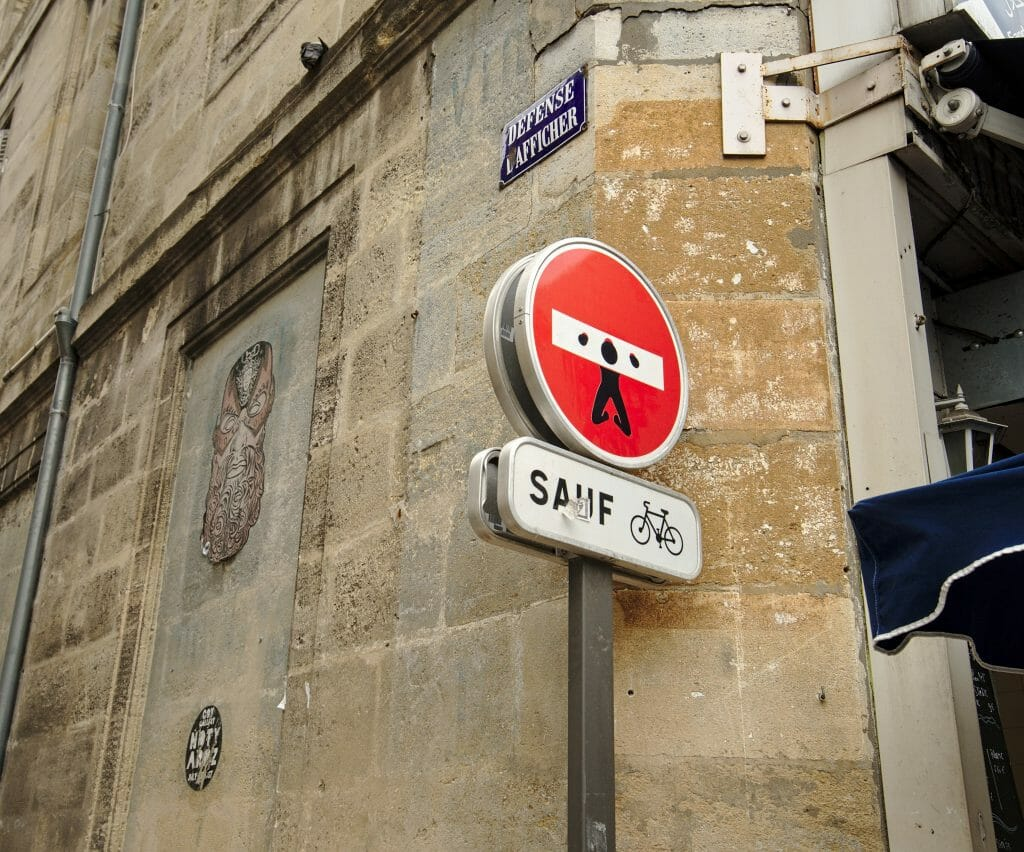 streetart bordeaux, clet
