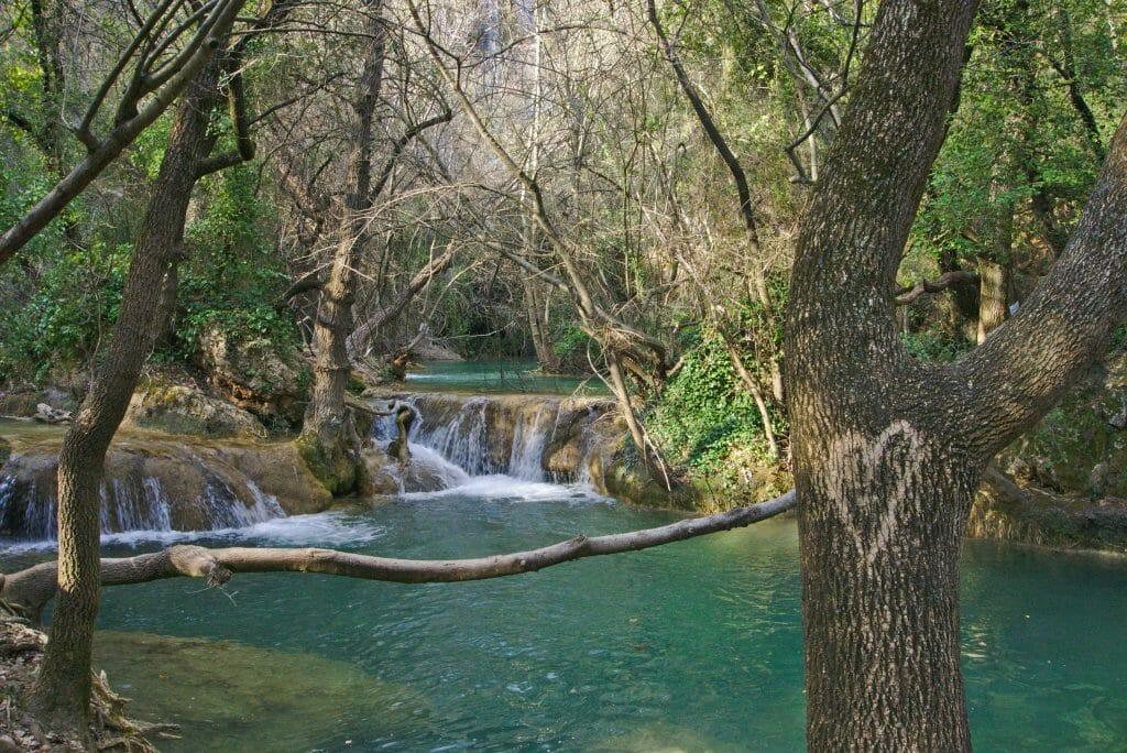 sillans la cascade, pied de la cascade