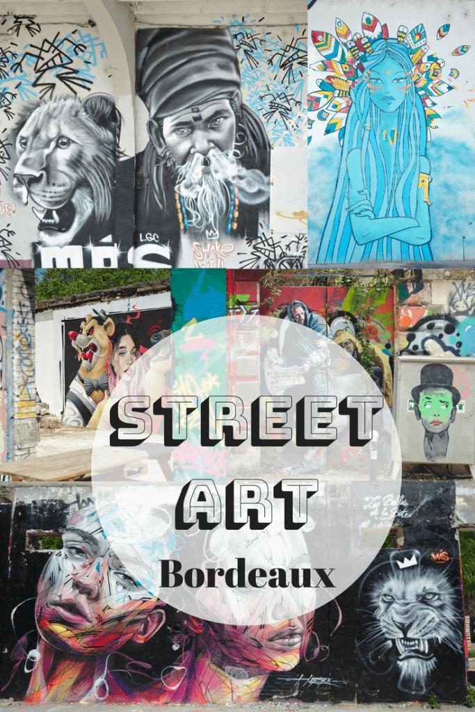 Streetart à bordeaux