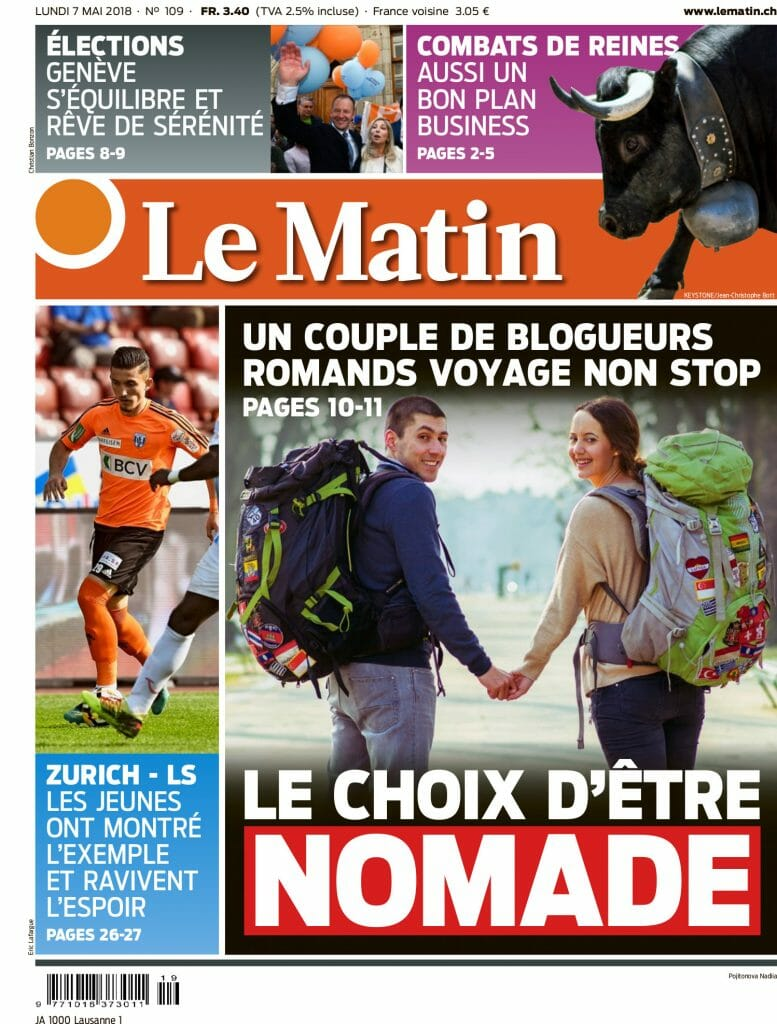 cover matin