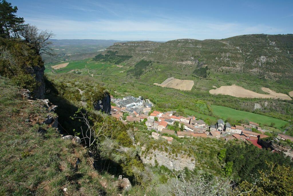 vue Roquefort