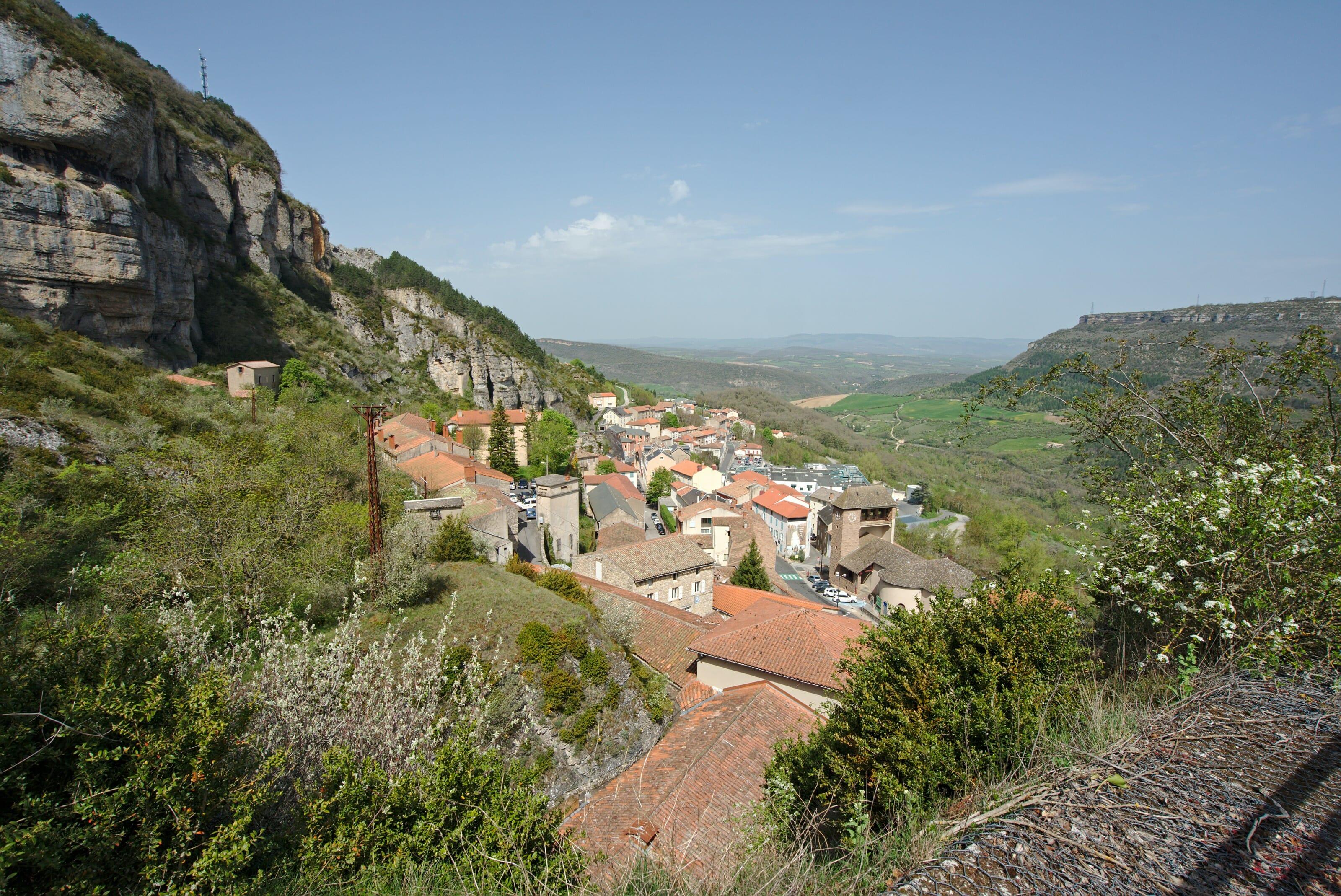 vue sur Roquefort