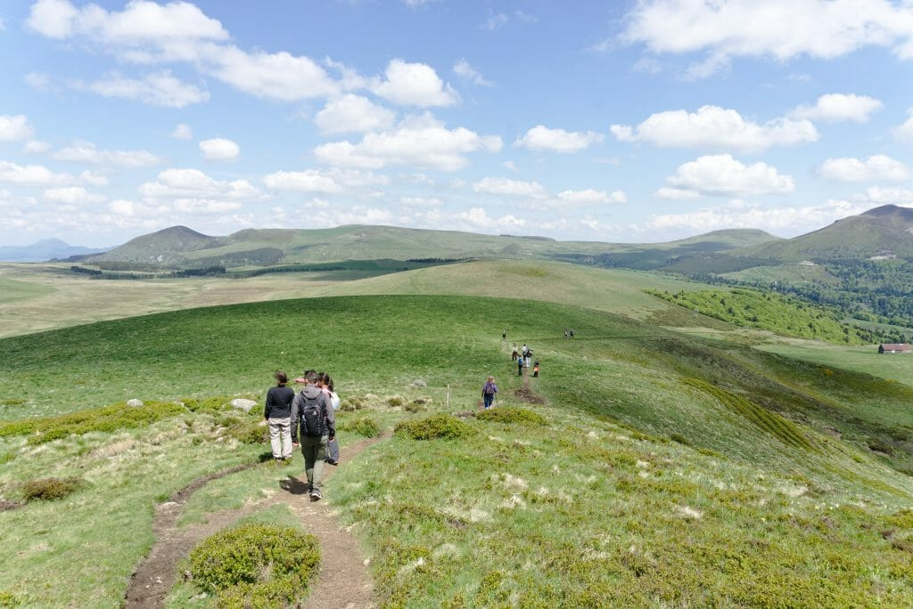 hiking auvergne, banne d'ordanche