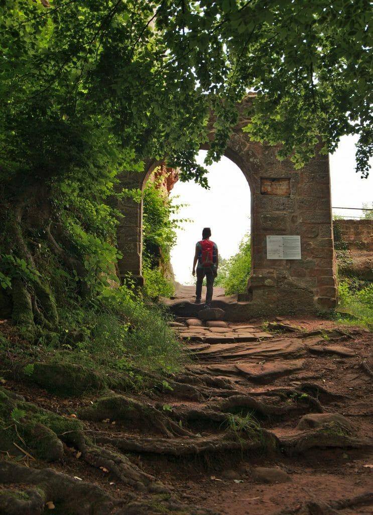 falkenstein, entrée princpale
