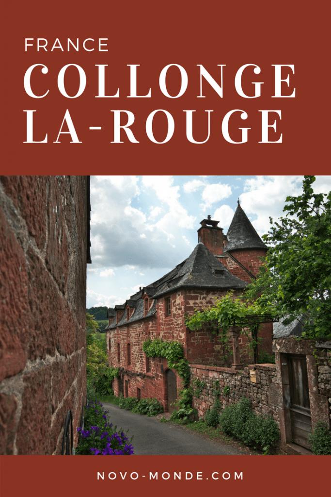 collonge-la-rouge plus beau village de france