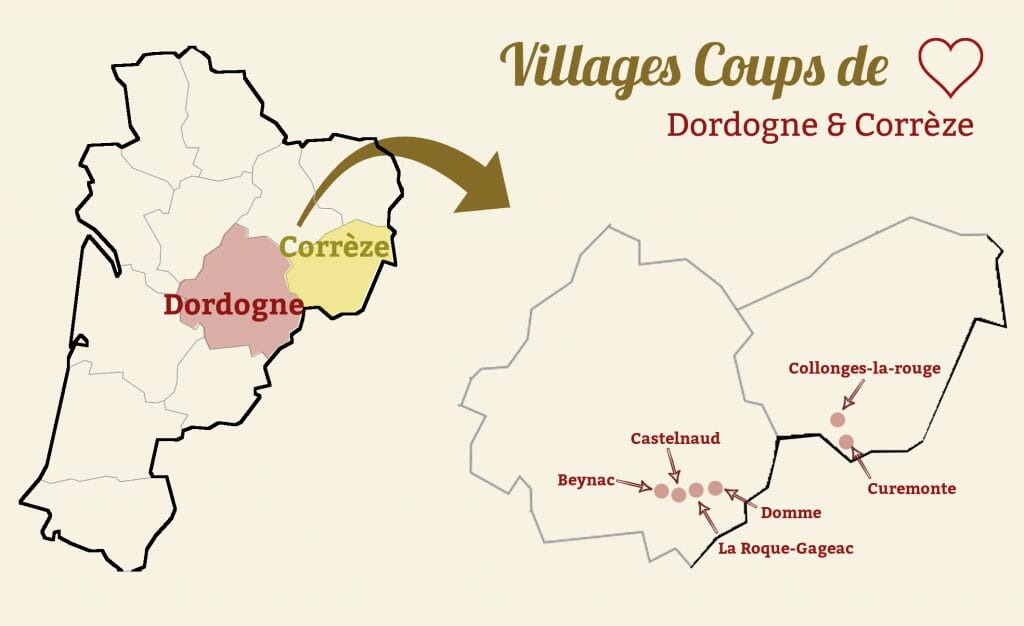 dordogne correze villages