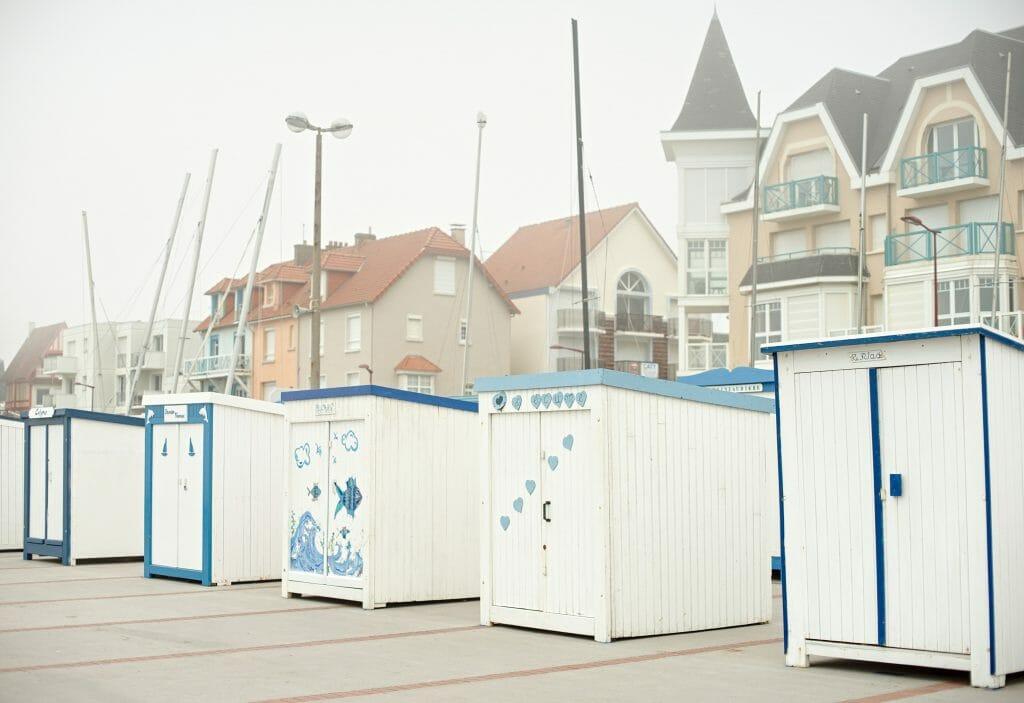 cabines de plage, france