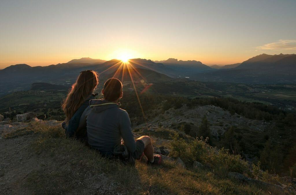 coucher de soleil ancelle