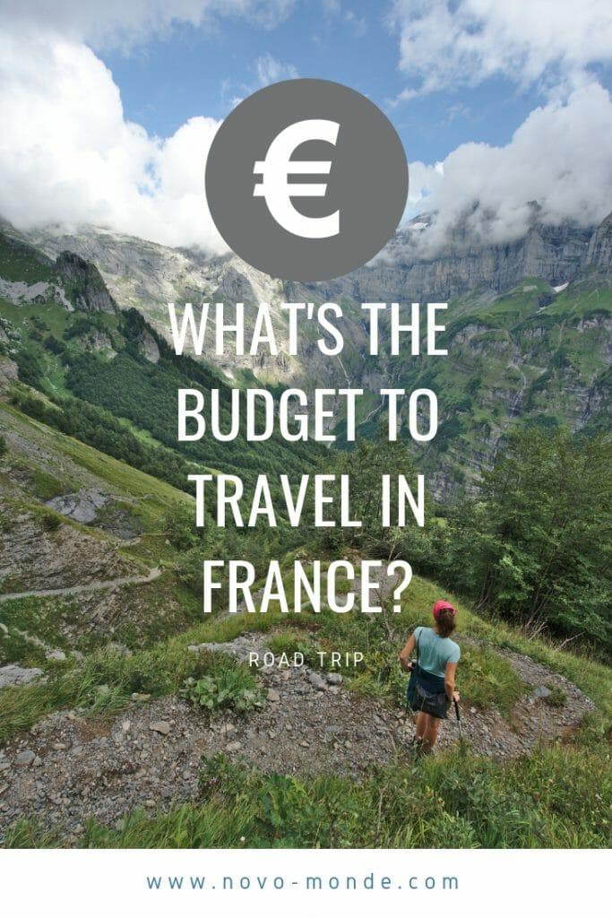 france, travel budget