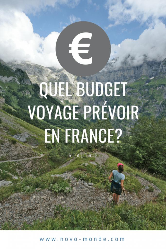 voyage en france budget