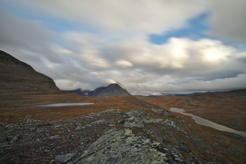 trekking in Lapland