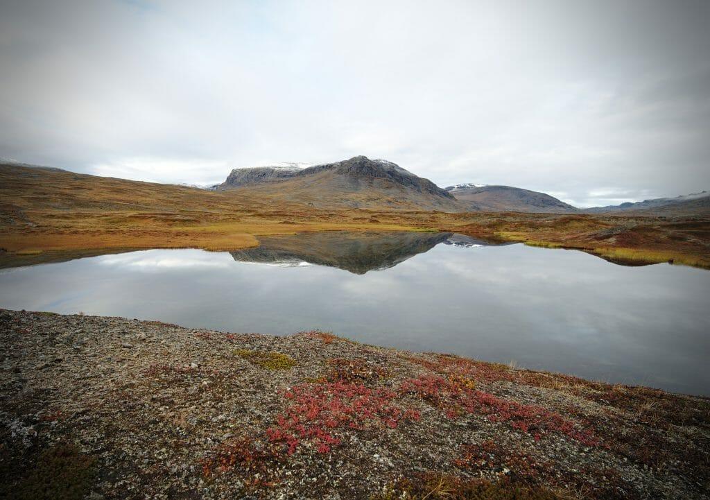 spot bivouac au bord du lac