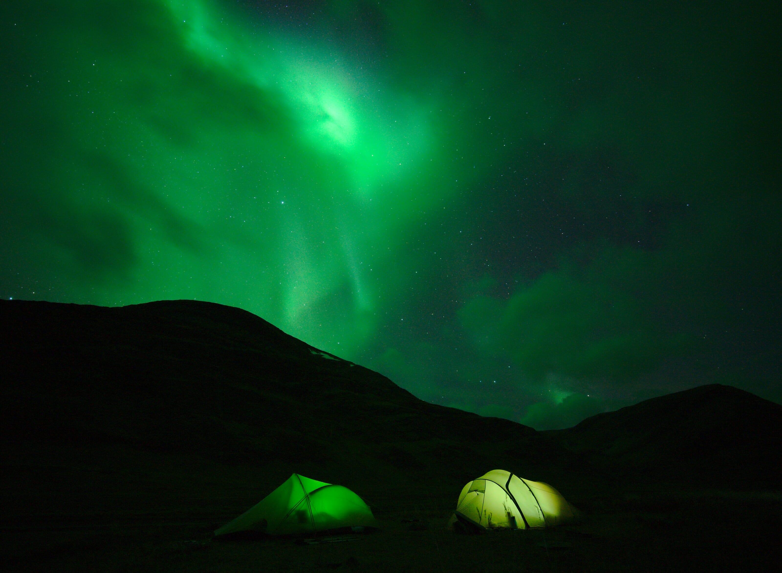 aurores boreales laponie