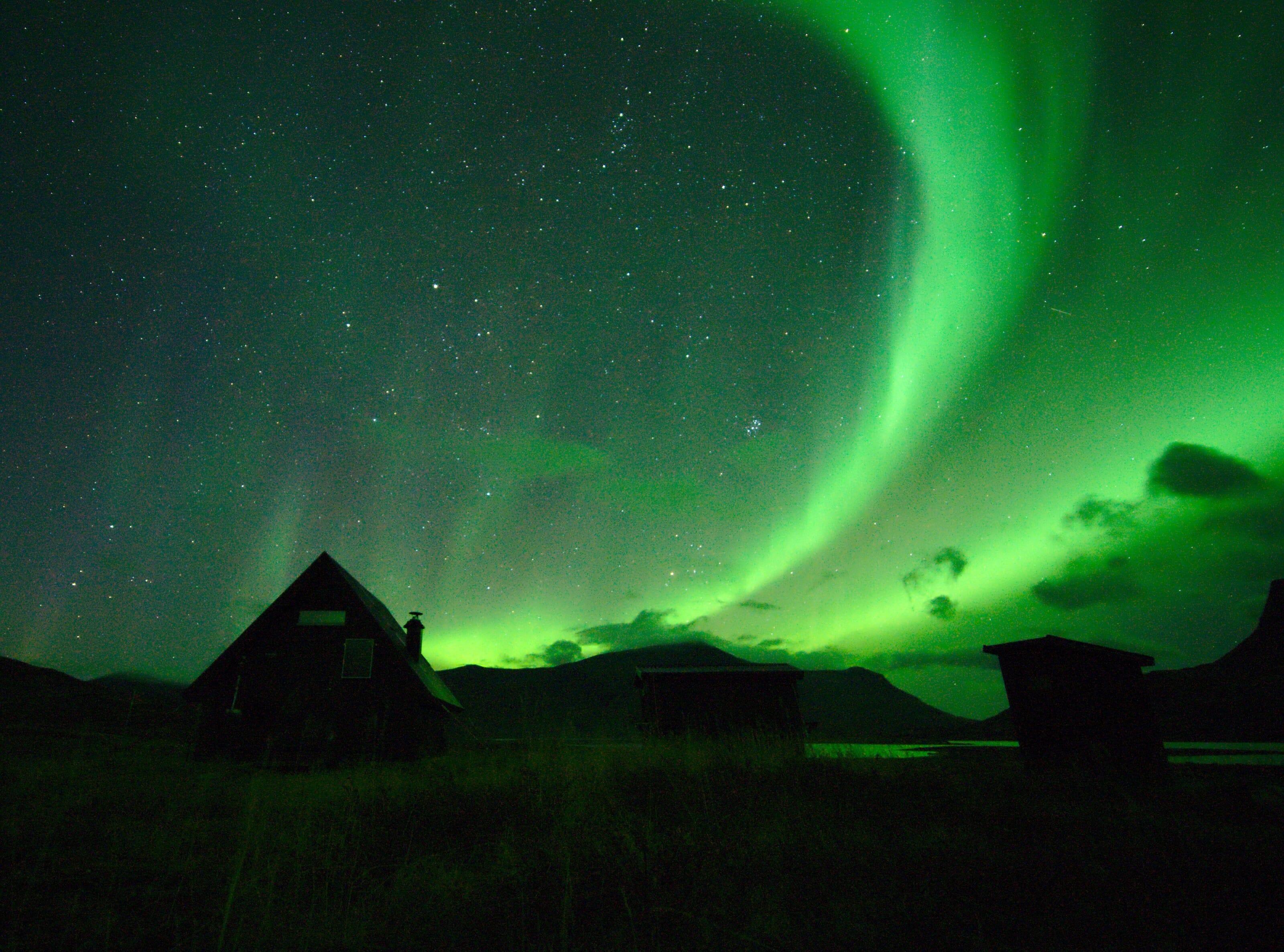 northern light hut lapland
