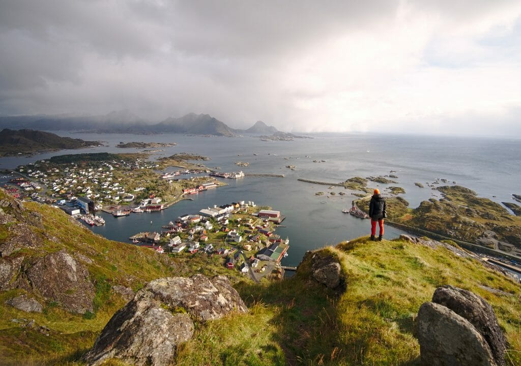 backpacking Lofoten