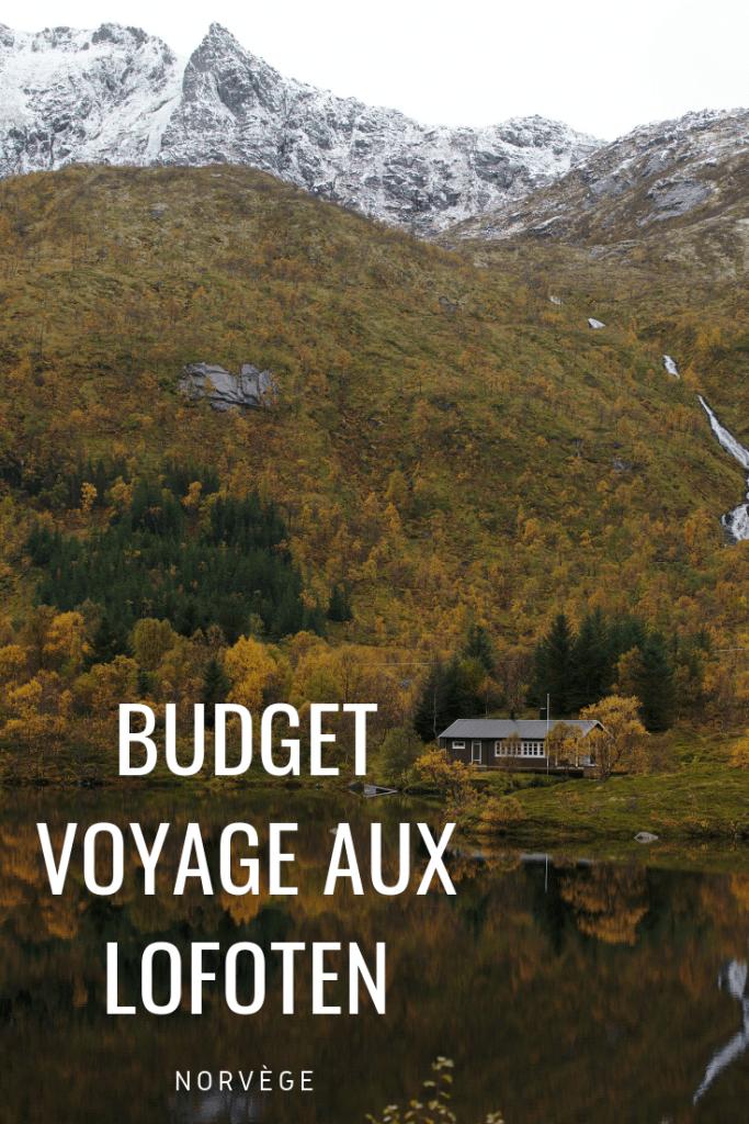 budget voyage norvège