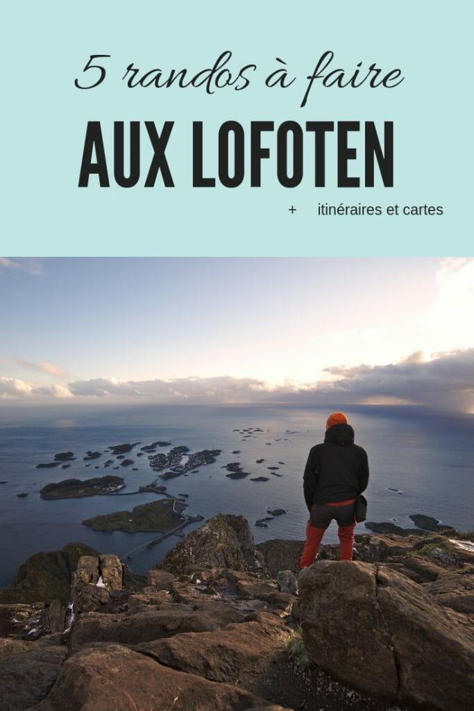 rando en norvège: les lofoten