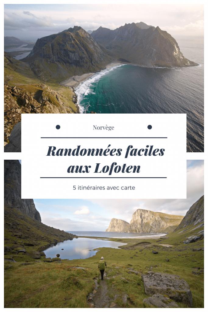 itinéraires de randonnée aux lofoten