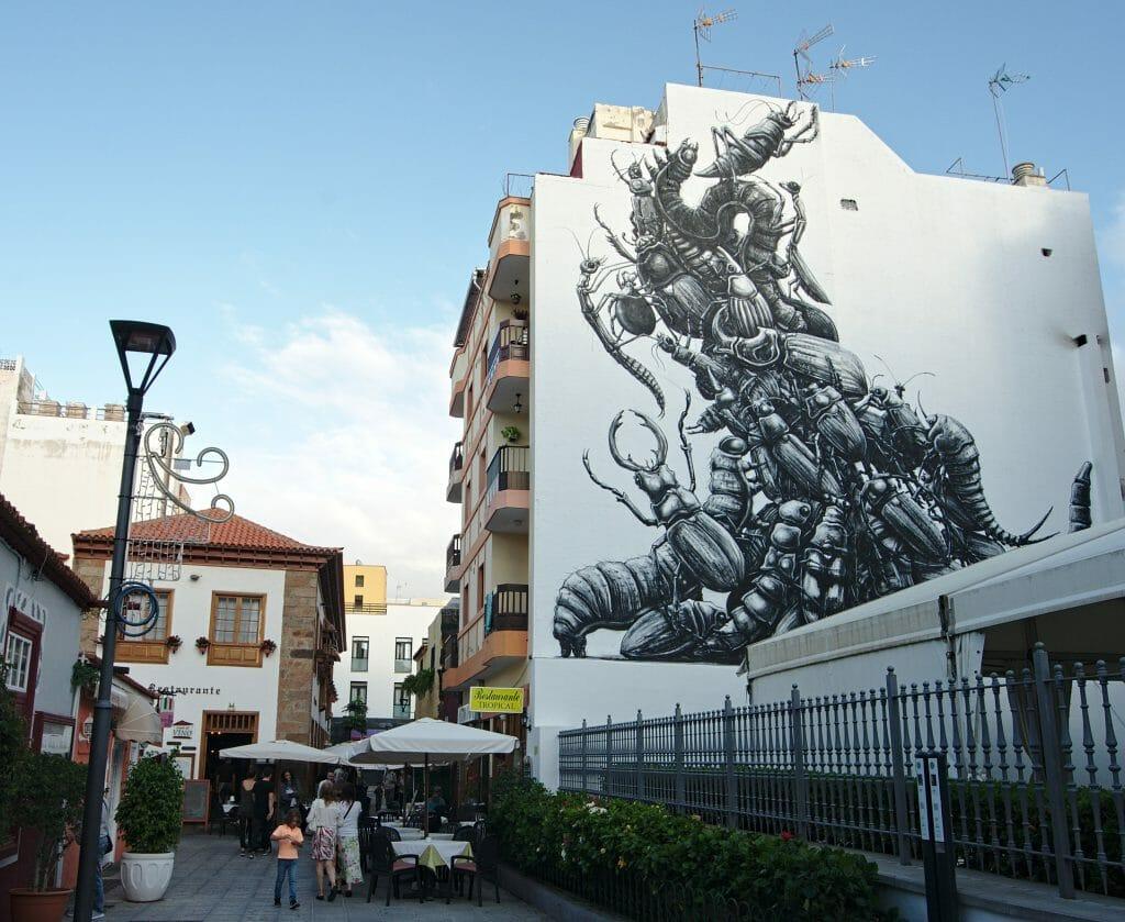 puerto de la cruz streetart