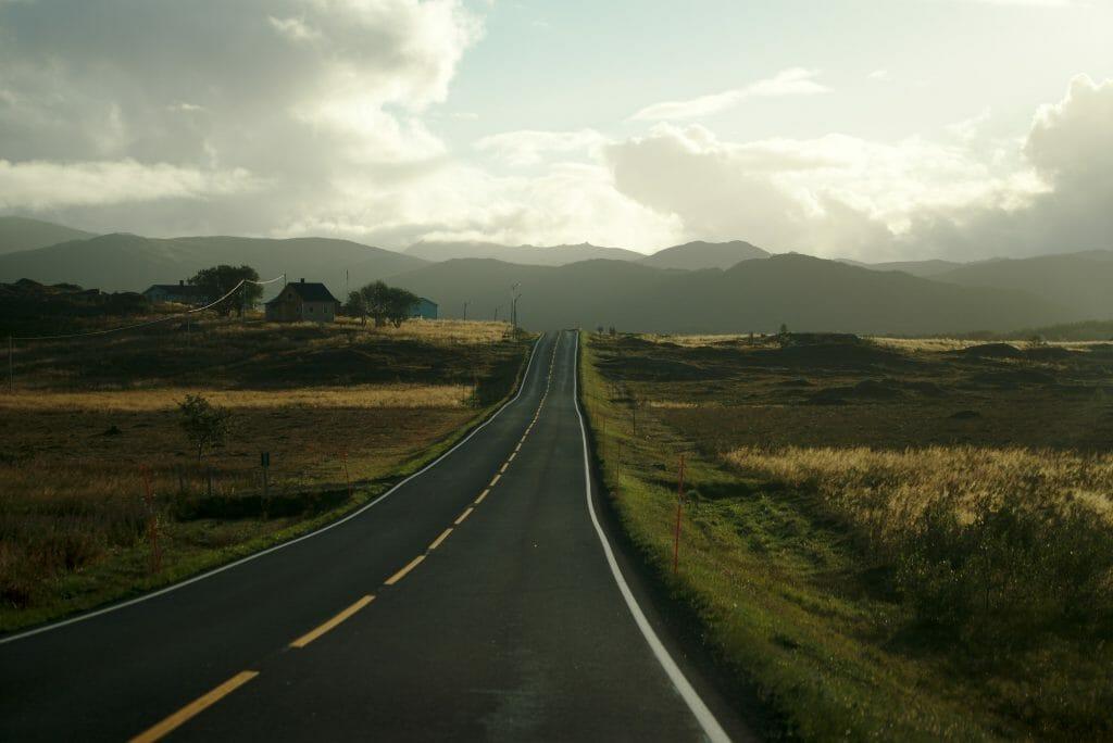 les routes aux lofoten