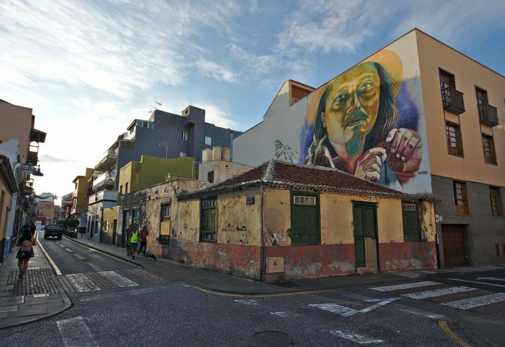 streetart à puerto de la cruz