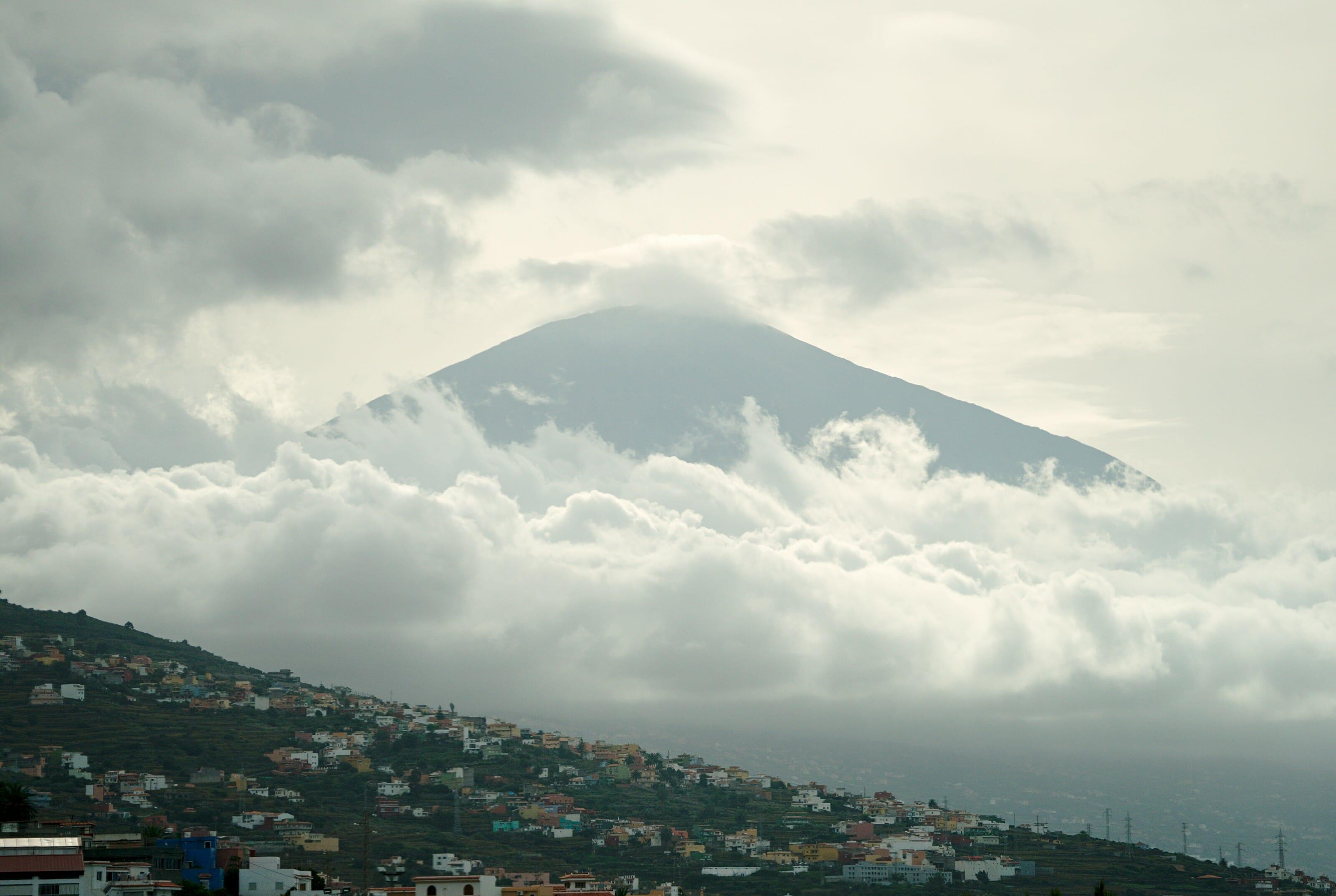 le volcan teide