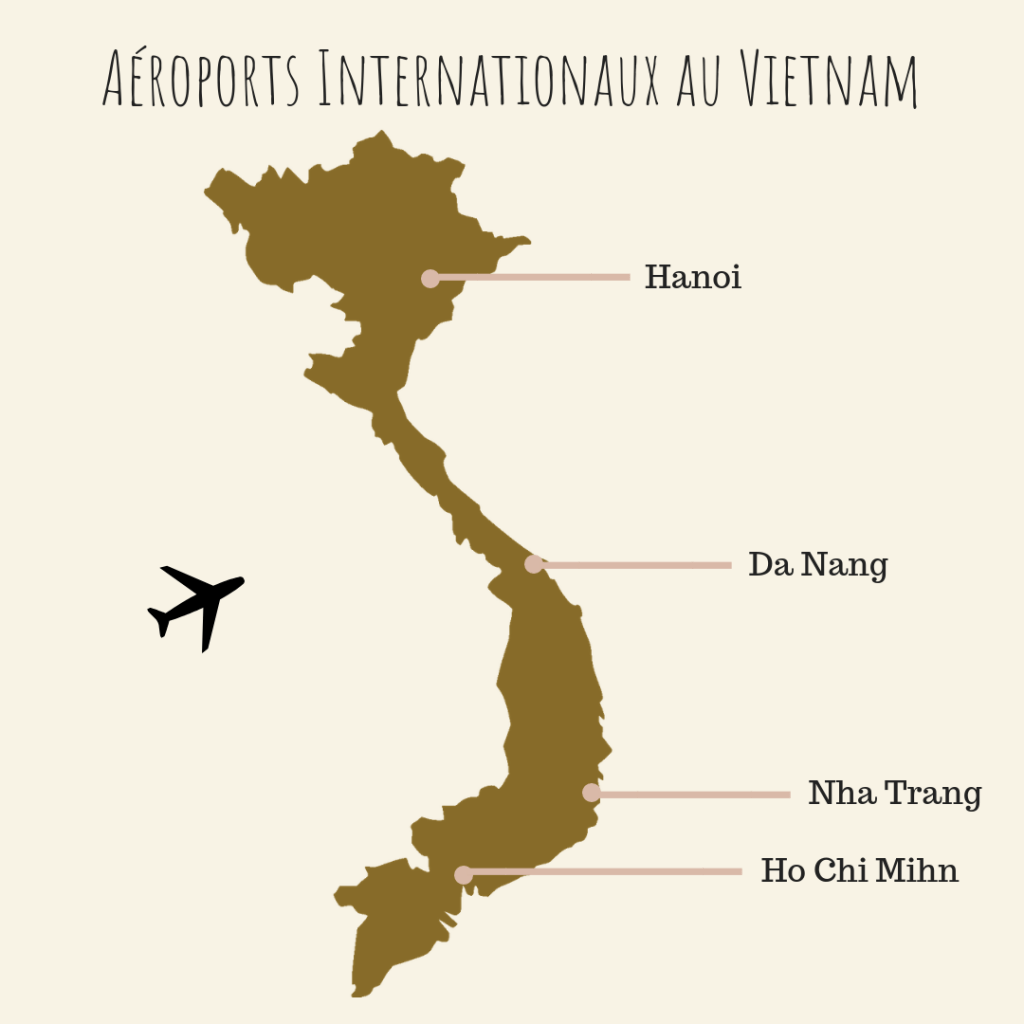 Aéroports Internationaux au Vietnam