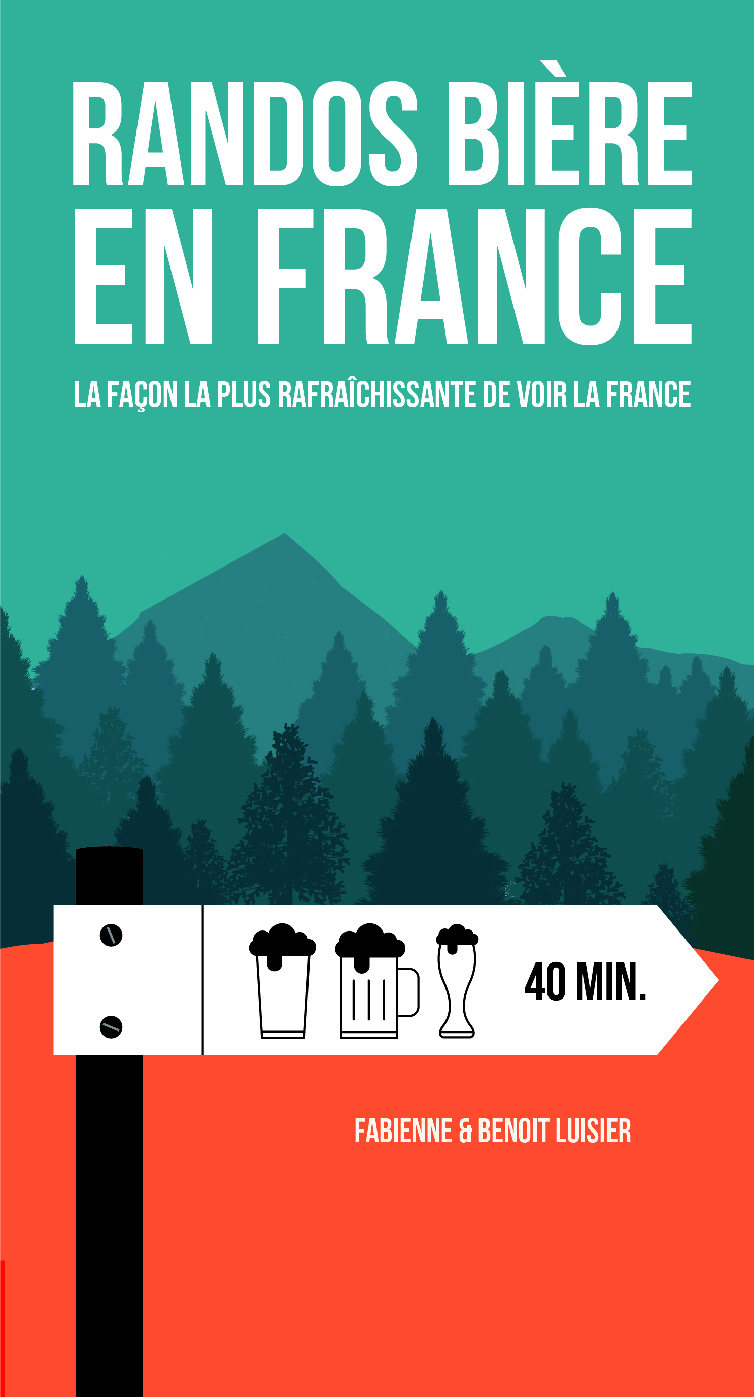 beer hiking in France