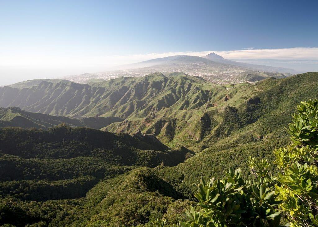 montagnes de l'anaga, tenerife