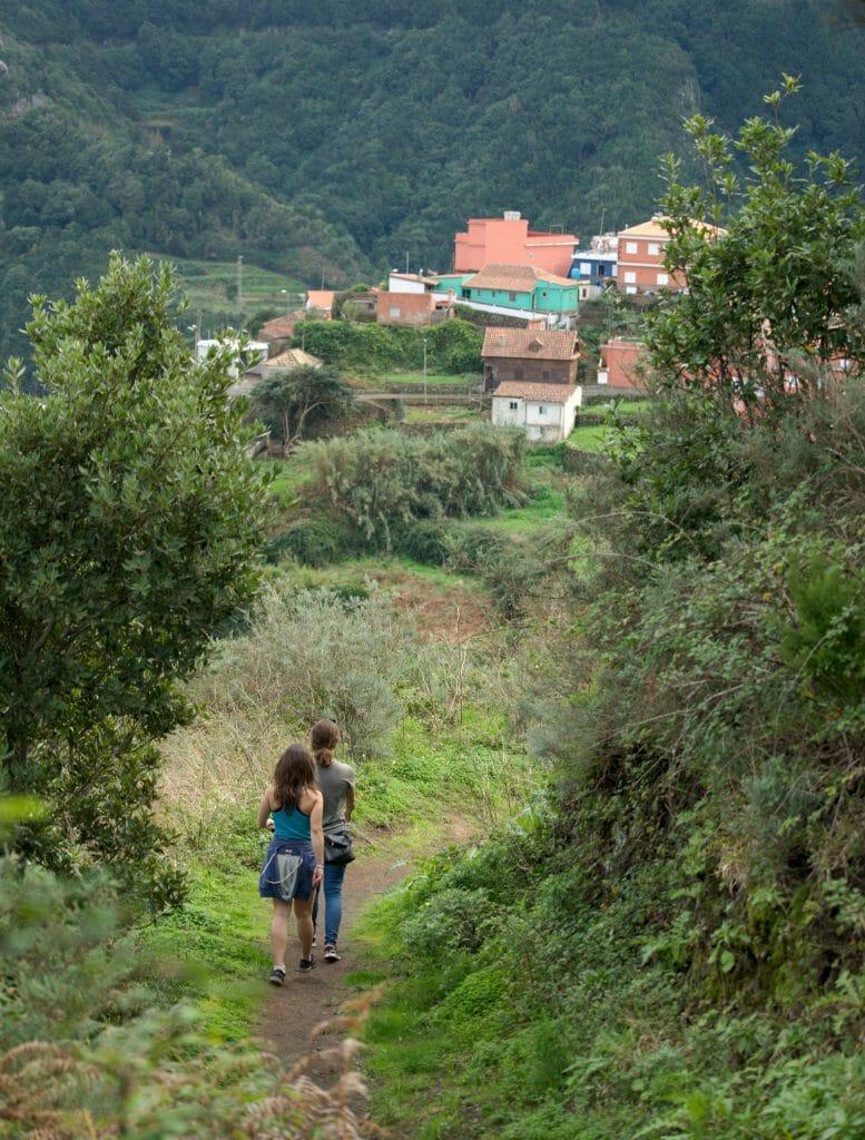 randonnée dans l'anaga