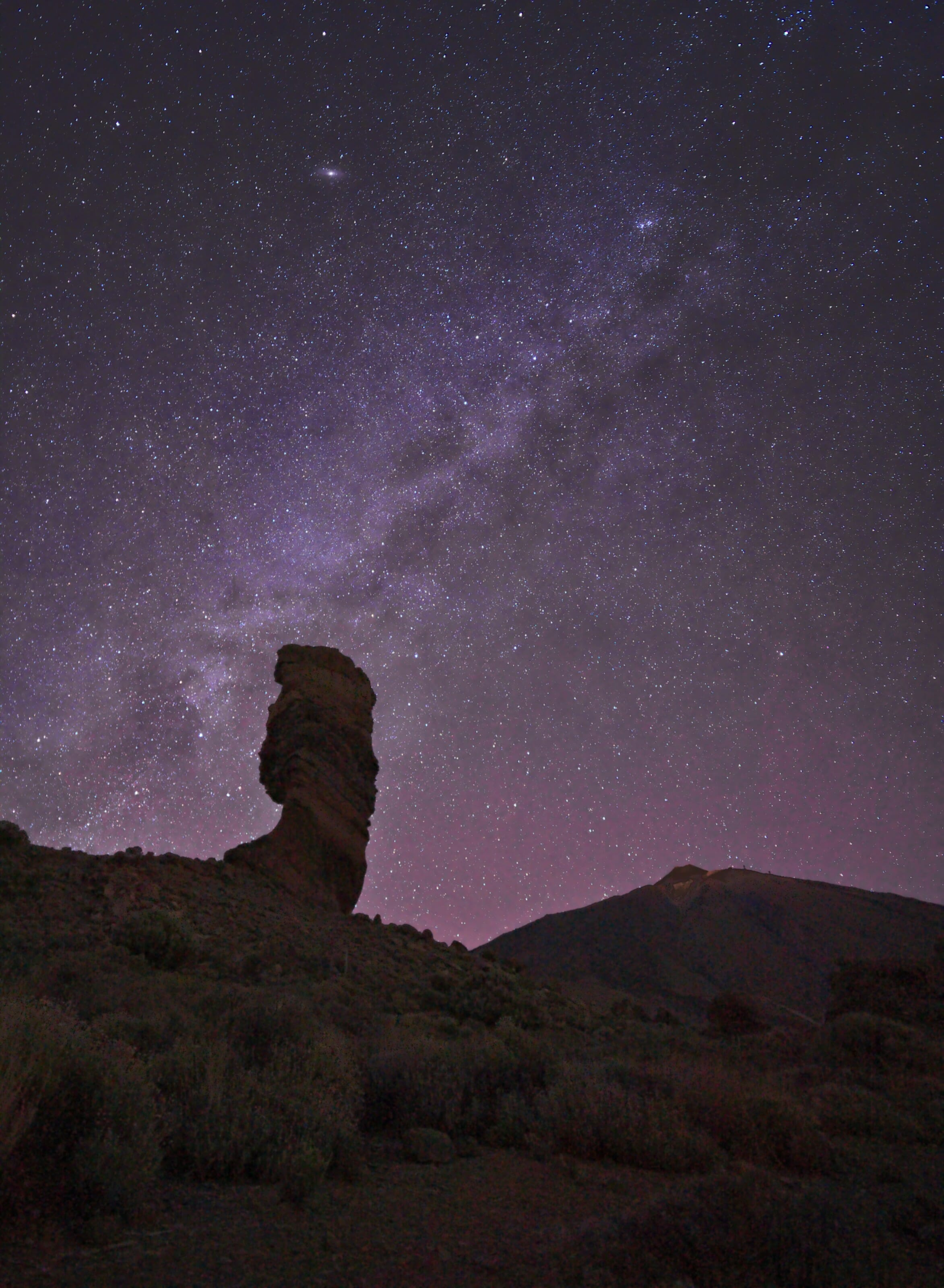milky way tenerife