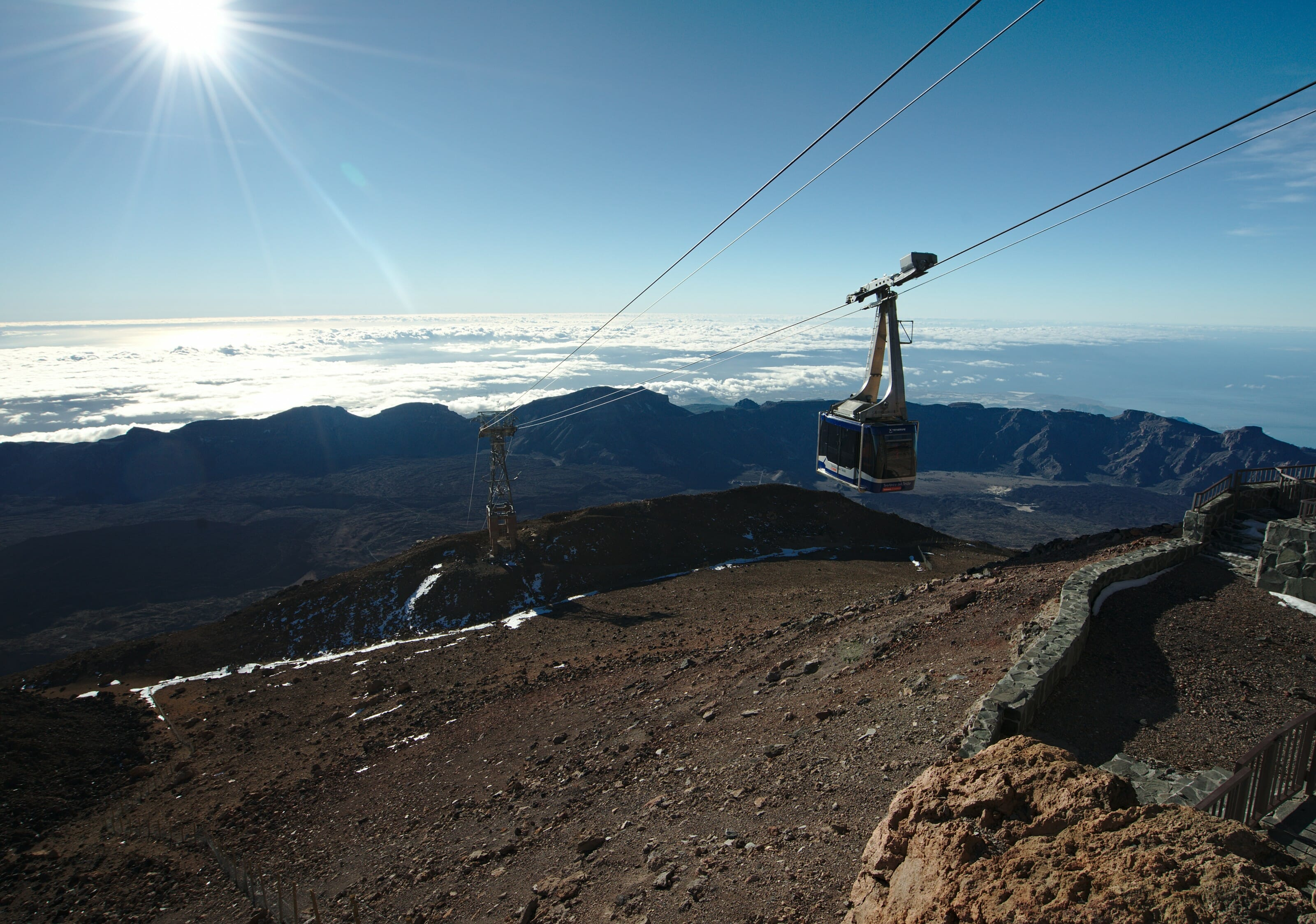 cable car teide