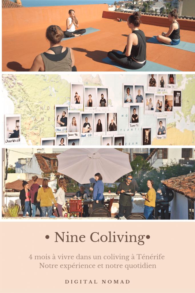 nine coliving, tenerife